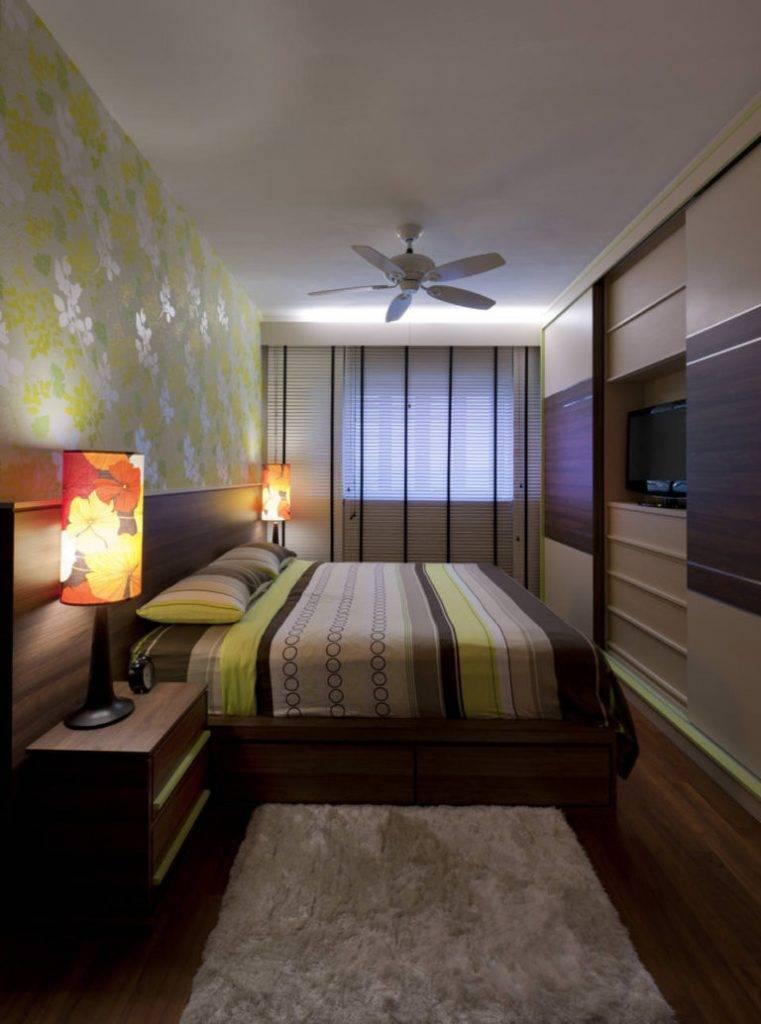 Дизайн и оформление вытянутой спальни — создаём комфортное пространство в узкой комнате (+60 фотоидей)