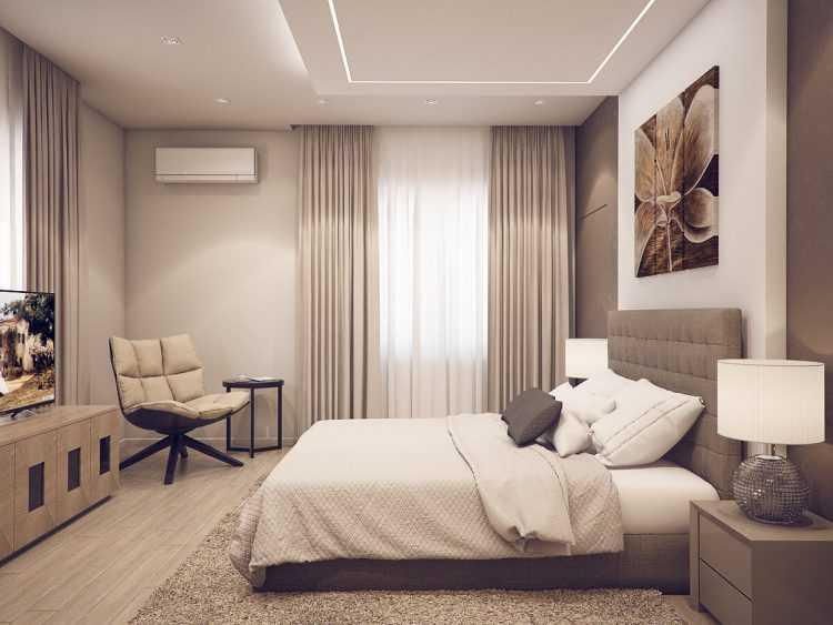 Дизайн спальни 12 кв. м. — лучшие варианты планировки и зонирования пространства в спальне (140 фото идей)