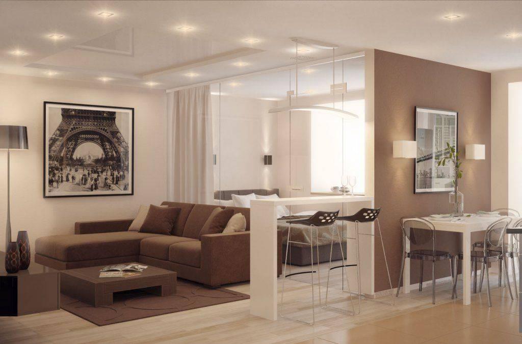 Основные методы зонирования гостиной с помощью дизайна