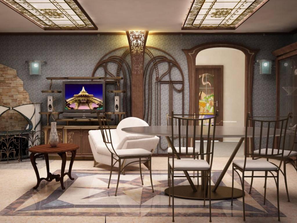 Стиль модерн в интерьере: особенности, предметы интерьера и характерные черты
