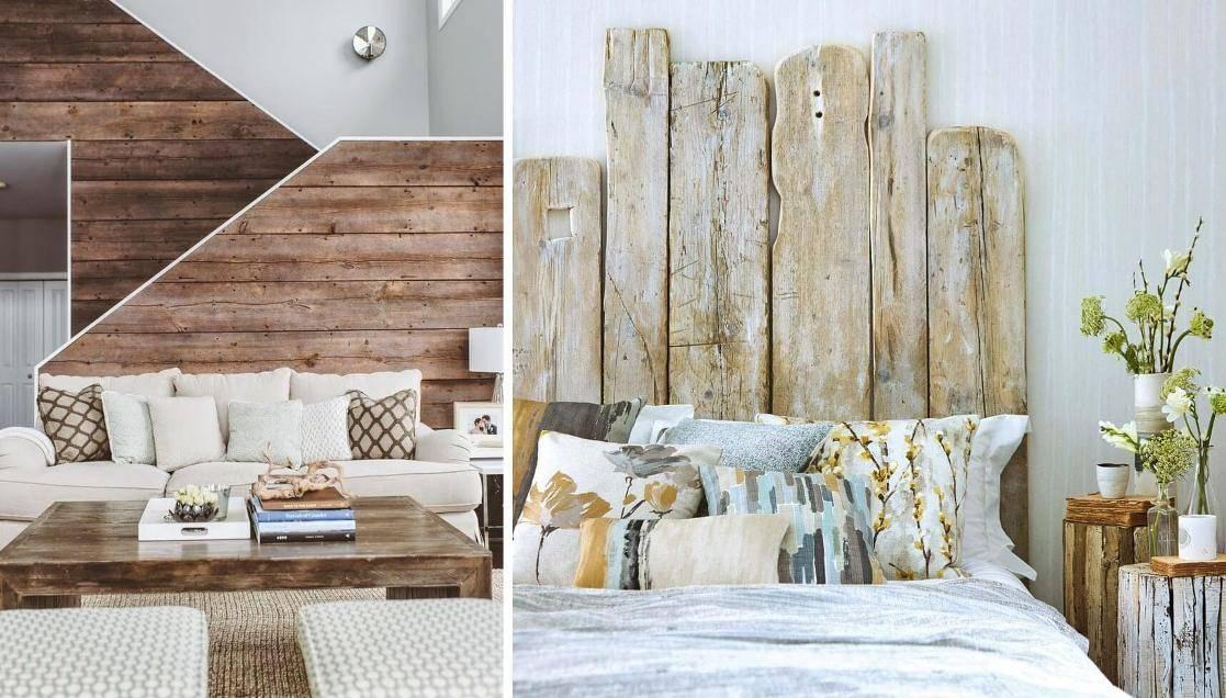 Дерево на стене: важные советы и готовые идеи отделки (50 фото) | дизайн и интерьер