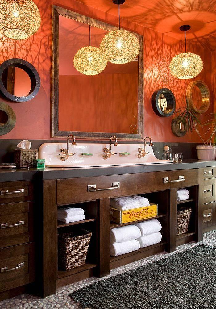 Применение синих оттенков в дизайне ванной комнаты – хитрости и нюансы