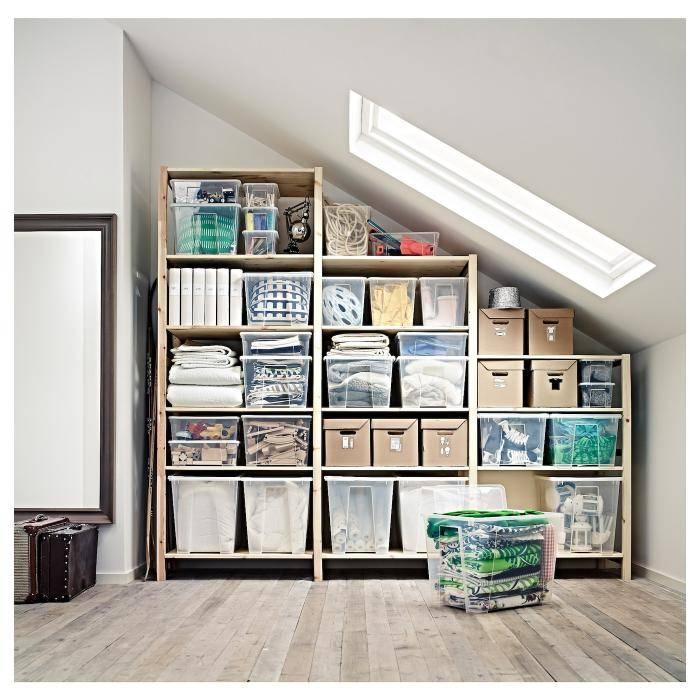 Стеллажи в кладовку (48 фото): деревянные и металлические полки, система хранения вещей, сборные железные угловые полочки в квартире