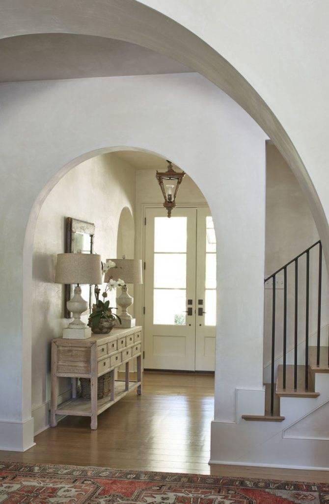 Арка в прихожей и коридоре: 50+ фото в интерьере, красивые идеи оформления