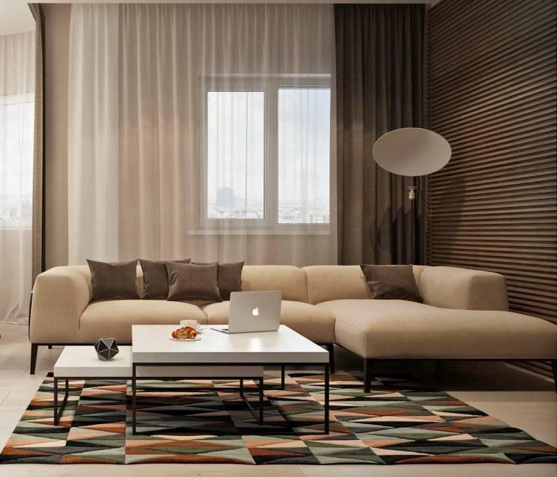 Обои для зала с фото интерьеров: какие выбрать материалы, цвета, орнаменты обоев и штор