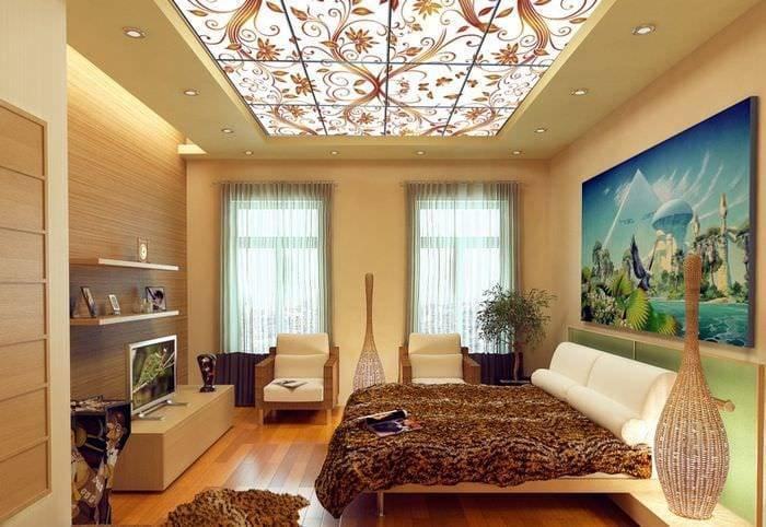 Дизайн потолков — современные идеи