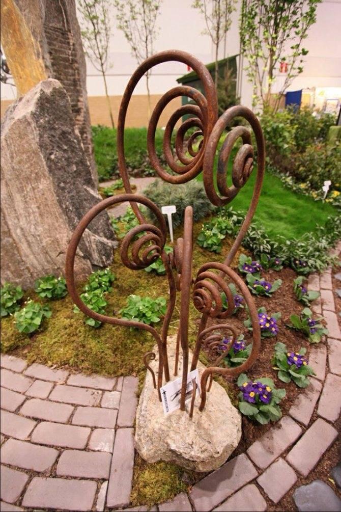 Садовый декор: лучшие идеи оформления участка. 130 фото вариантов украшения