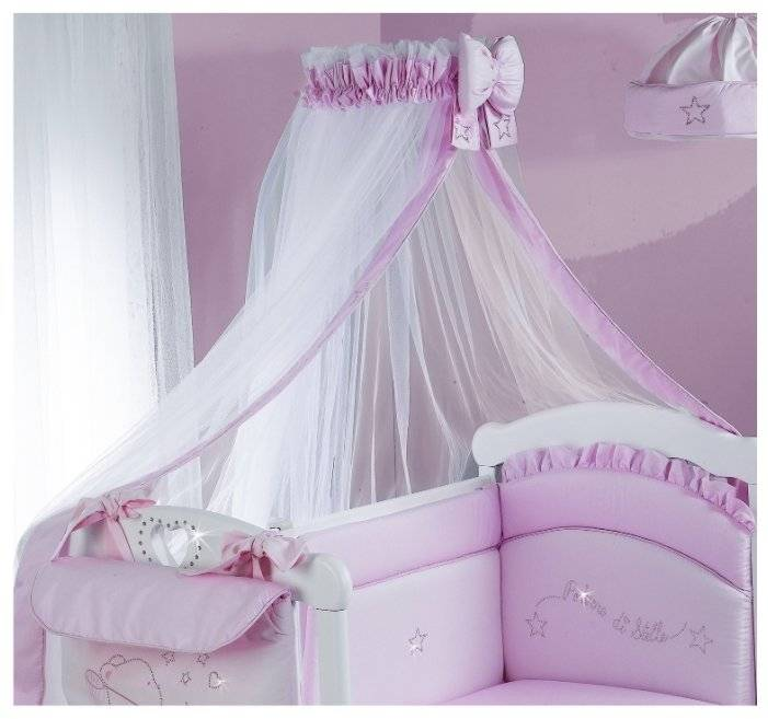 Балдахин на детскую кроватку (57 фото): идеи полога над круглой кроватью девочки, для чего он нужен, выбираем каркас, как поставить стойку