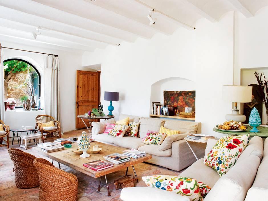 Дизайн интерьера дома в средиземноморском стиле