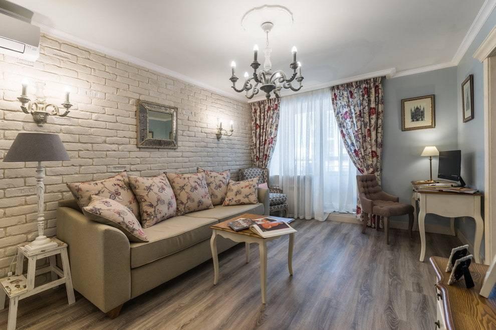 Провинциальный шарм и простота: 78 фото-идей по оформлению интерьеров гостиных в стиле прованс