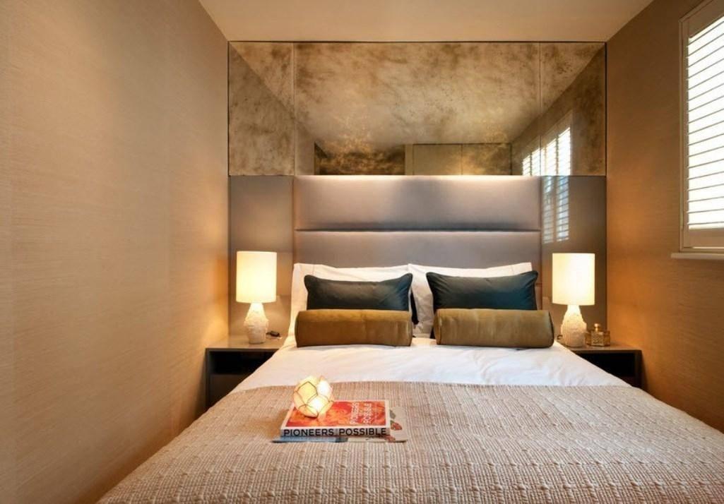 Варианты дизайна спальной комнаты 5 кв м