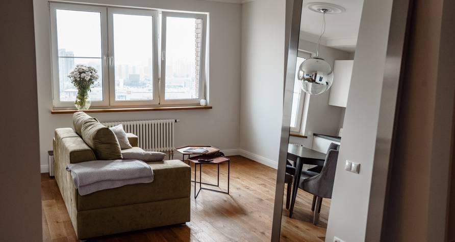 Дизайн однокомнатной квартиры п44т идеи и фото