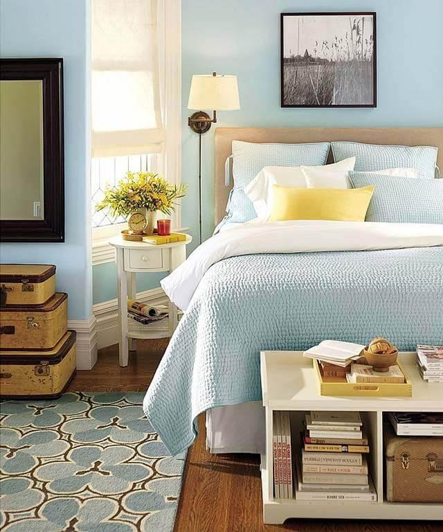 100+ вариантов сочетания цветов в интерьере спальни на фото