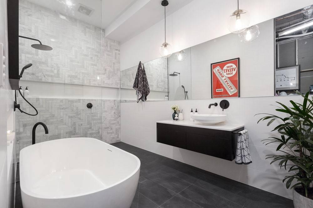 Дизайн ванной 2021 | модные тренды интерьера (+55 фото)