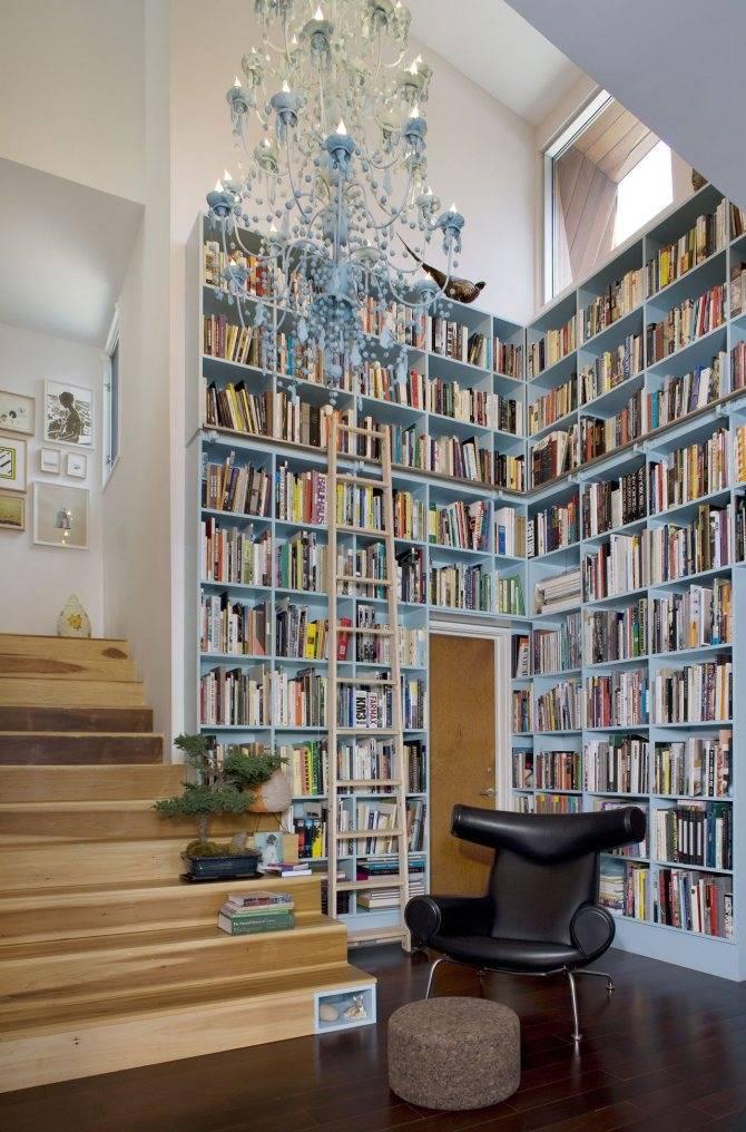 Дизайн библиотеки: как создать домашнюю библиотеку в квартире? (38 фото)