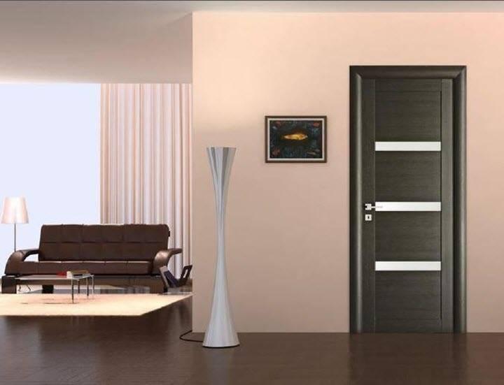 Двери и пол — сочетание в интерьере: нестандартные цветовые решения