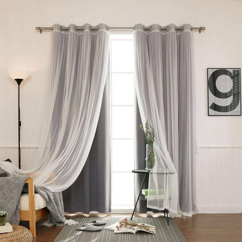 Белые шторы в интерьере: особенности модного дизайна