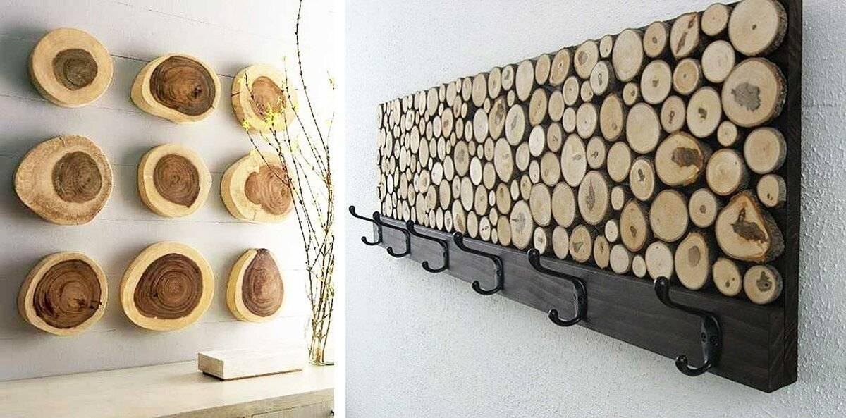 Панно из спилов дерева (20 фото): как сделать панно из деревянных спилов и бруса своими руками на стену?