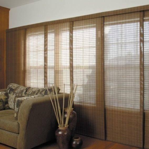 Японские шторы (64 фото в интерьере): японские панели и карнизы стиле, модели на кухню, жалюзи и перегородки