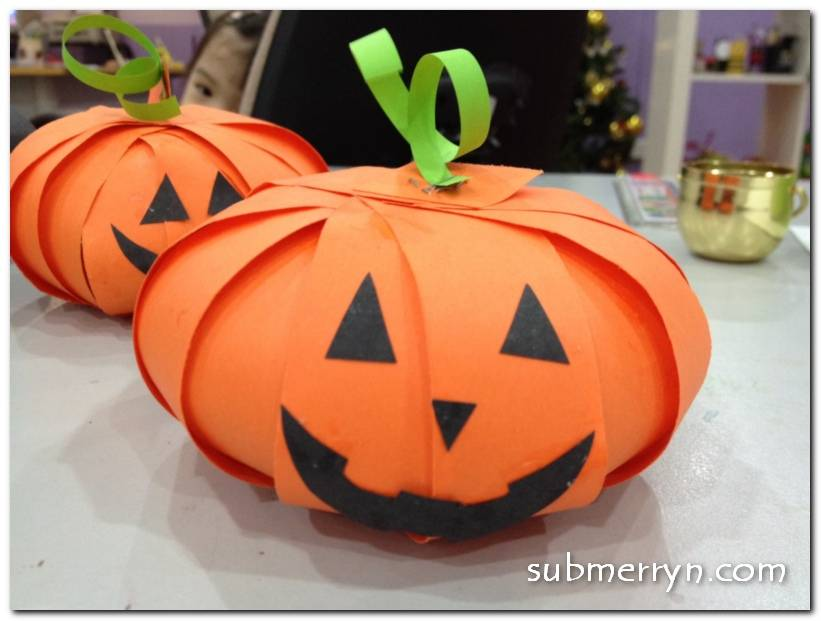 Тыква на хэллоуин своими руками из бумаги: шаблоны поделок