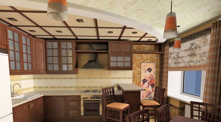 Японский стиль в интерьере - дизайн кухни, гостиной, прихожей, ванной