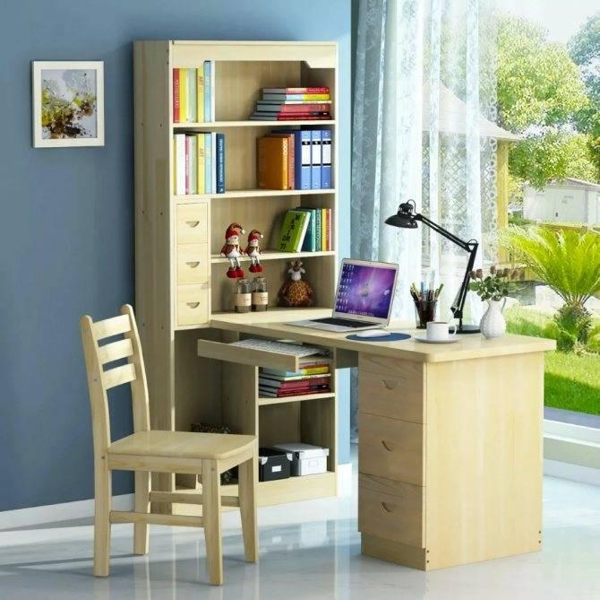 Стол у окна в детской: как выбрать хорошую и стильную мебель для ребёнка