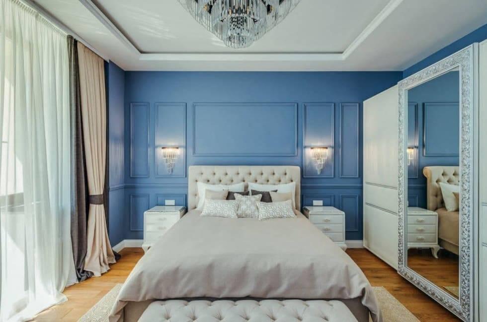 Планировка спальни 11 кв
