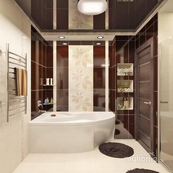 Дизайн ванной в бежевых тонах - нюансы оформления интерьера