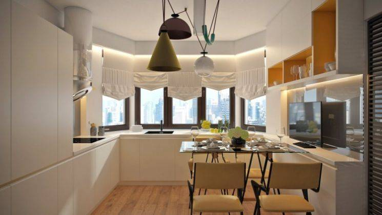 Дизайн трехкомнатной квартиры в панельном доме серии п-44т