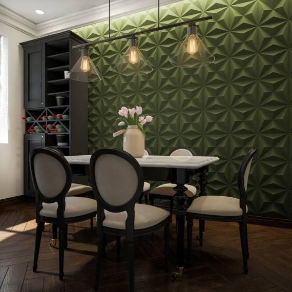Самые модные стеновые панели для кухни в 24 фото