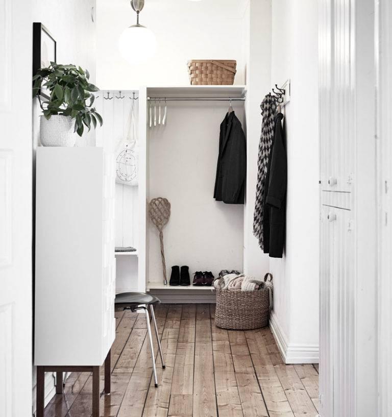 Прихожая в скандинавском стиле (57 фото): дизайн интерьера маленького коридора, современная узкая прихожая в скандинавском стиле