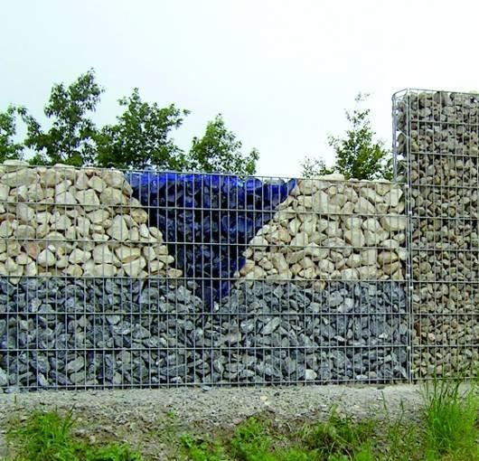Каменный забор из габионов. нюансы строительства