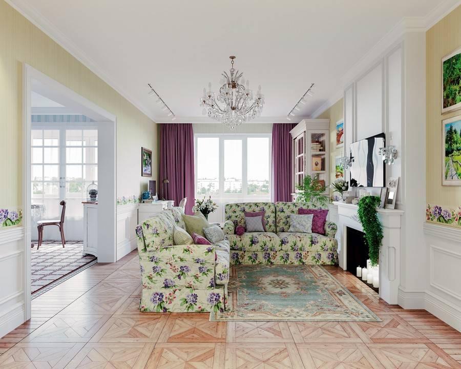 Дизайн в стиле прованс — французский интерьер в квартире