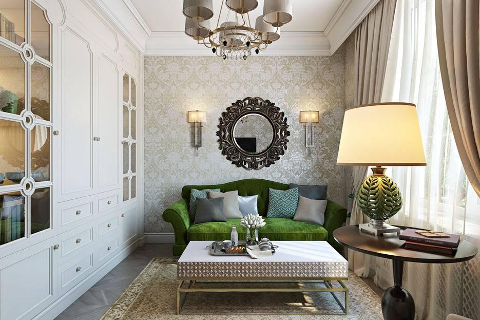 Гостиная в классическом стиле: общие тенденции, фото интерьеров с подходящей мебелью и цветовыми решениями