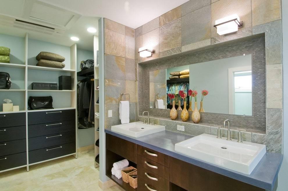 Напольные шкафы в ванную комнату: разновидности и выбор