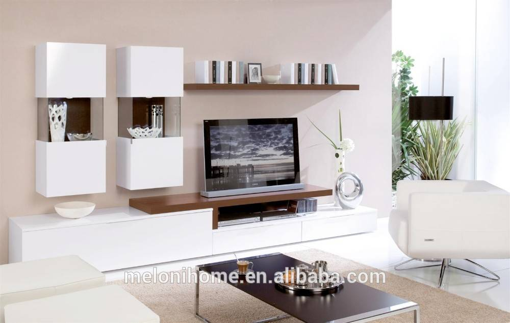 Дизайн стены с телевизором в гостиной (41 фото): оформление акцентной стены, как красиво оформить и на какой высоте от пола вешать тв