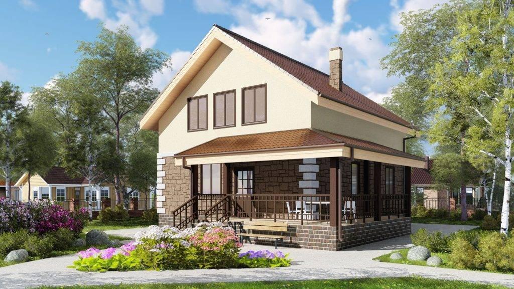 Двухэтажные дома с эркерами — плюсы и минусы, проекты и планировки — варианты интерьера
