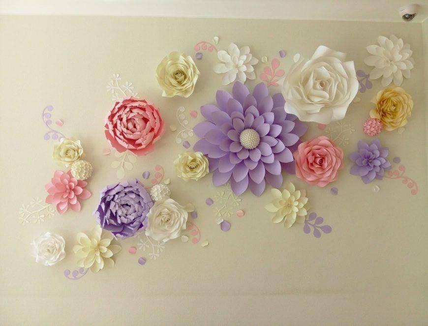 Цветы из бумаги своими руками: пошаговые фото для начинающих и детей, шаблоны и схемы бумажных цветов для вырезания   жл