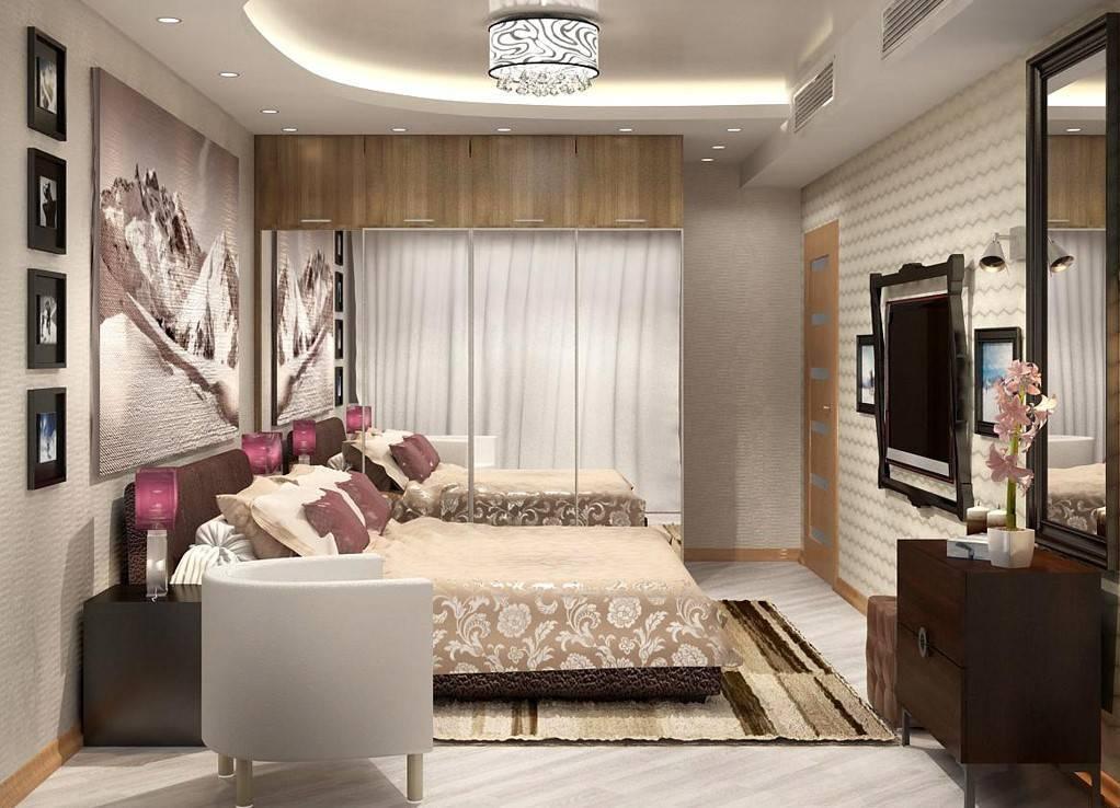 Визуальная коррекция пространства спальни: шаг за шагом