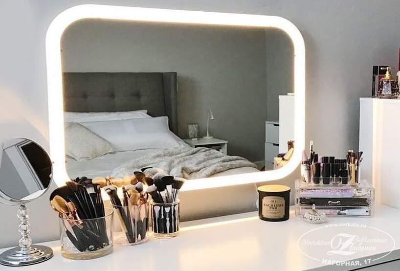 Красивые туалетные столики с зеркалом, 40 фото. красивые интерьеры и дизайн