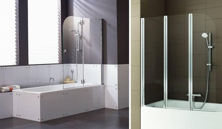 Стеклянная ширма для ванны - все о канализации