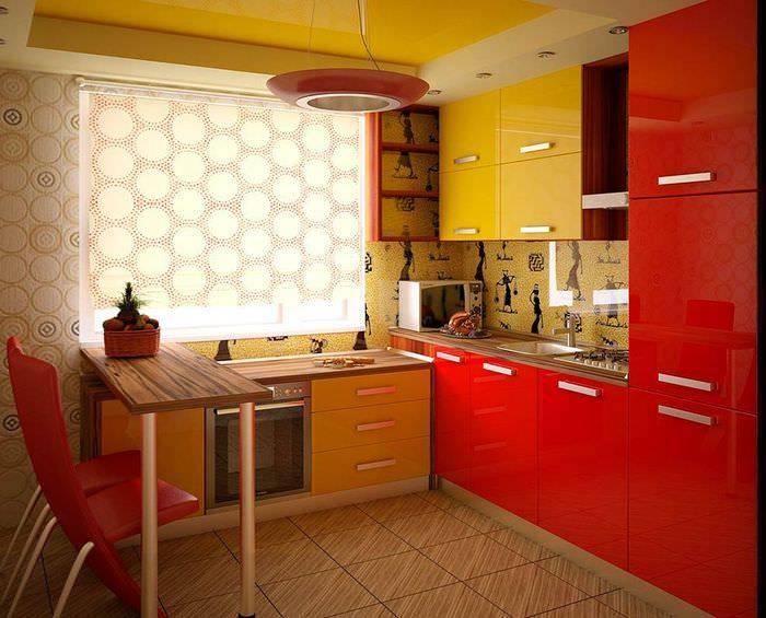 Красная кухня в интерьере +75 фото идей и сочетаний цветов