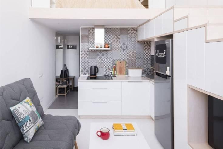 Варианты дизайна квартиры-студии 20 кв м