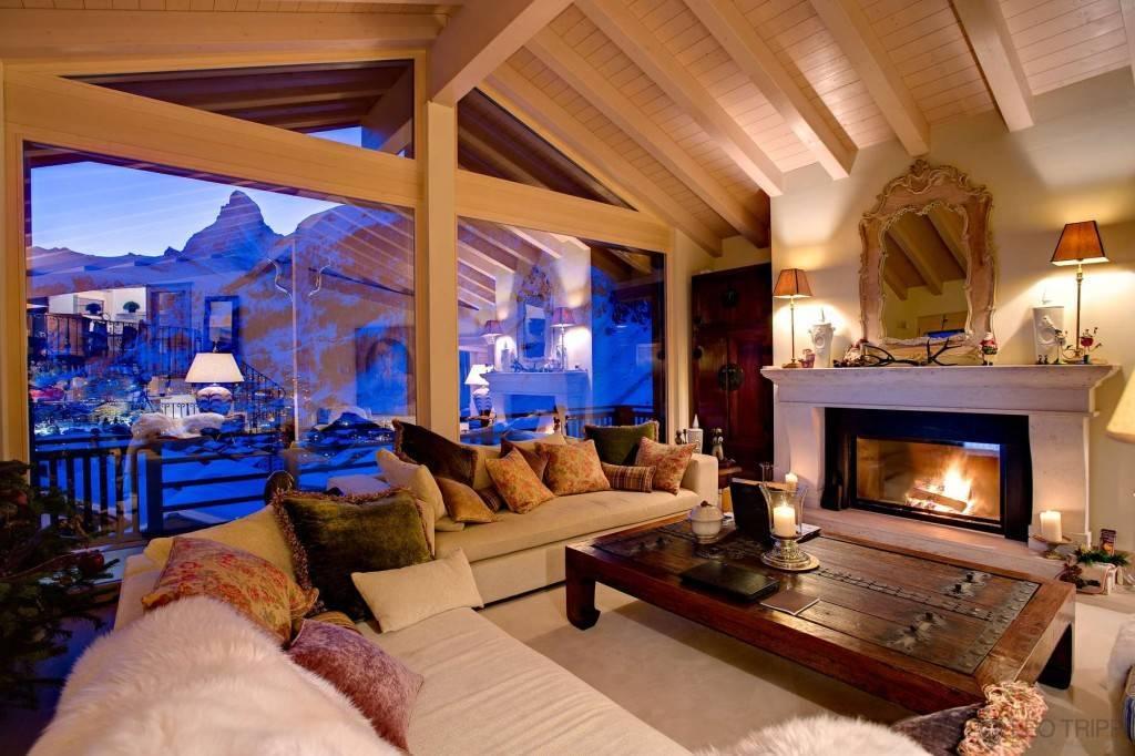 Гостиная в стиле шале: секреты альпийского уюта и 5 преимуществ