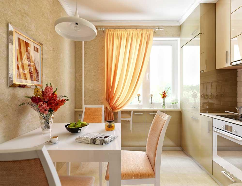 Маленькая кухня 4 кв. м с холодильником: фото дизайна, прямая в длину и квадратная в современном стиле, малогабаритная в хрущевке