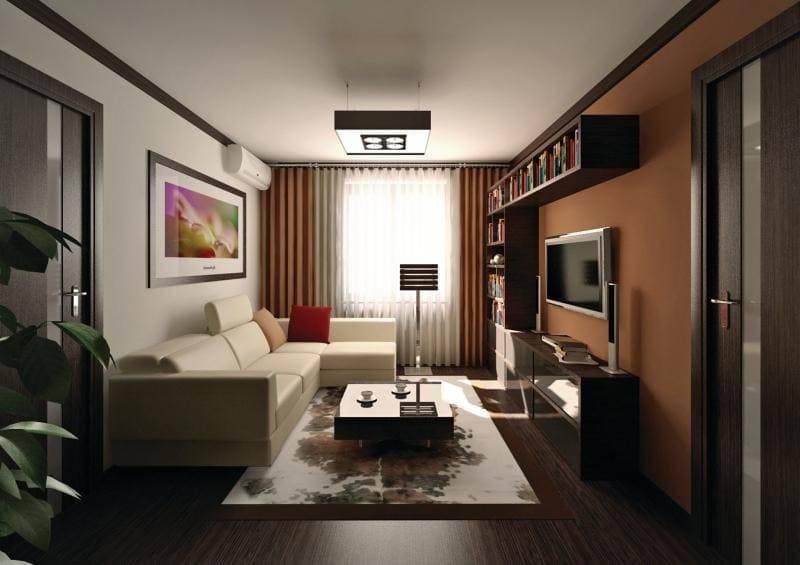 Интерьеры больших квартир