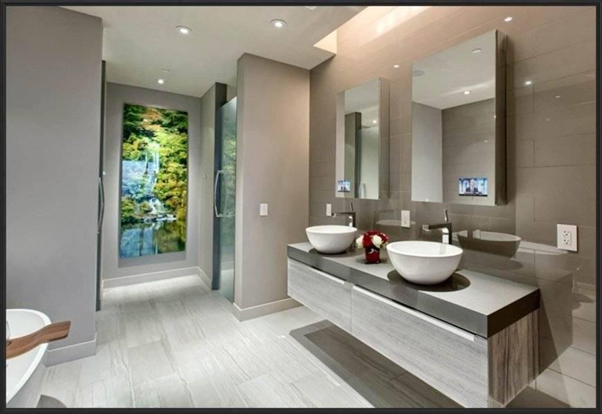 Дизайн ванной комнаты 2019 года: 115 фото лучших идей нового сезона