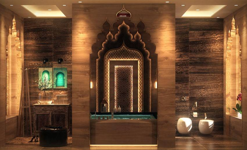 Египетский стиль (57 фото): интерьер спальной комнаты, дизайн и ремонт, мебель и обои для стен кухни и гостиной