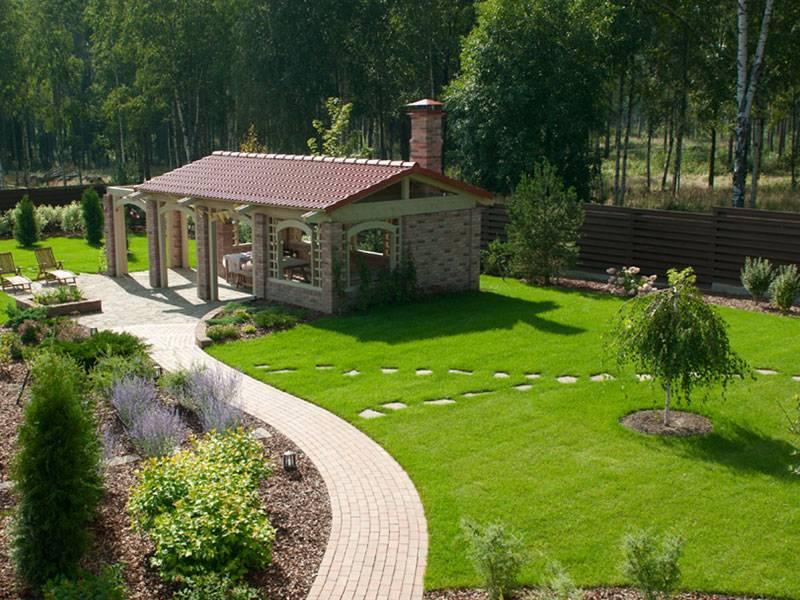 Благоустройство участка - 145 фото примеров озеленения и применения ландшафтного дизайна