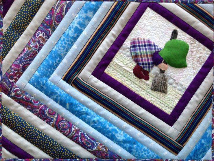 Лоскутное шитье: схемы и шаблоны, этапы создания
